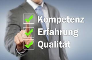 Kompetenz, Erfahrung, Qualiät